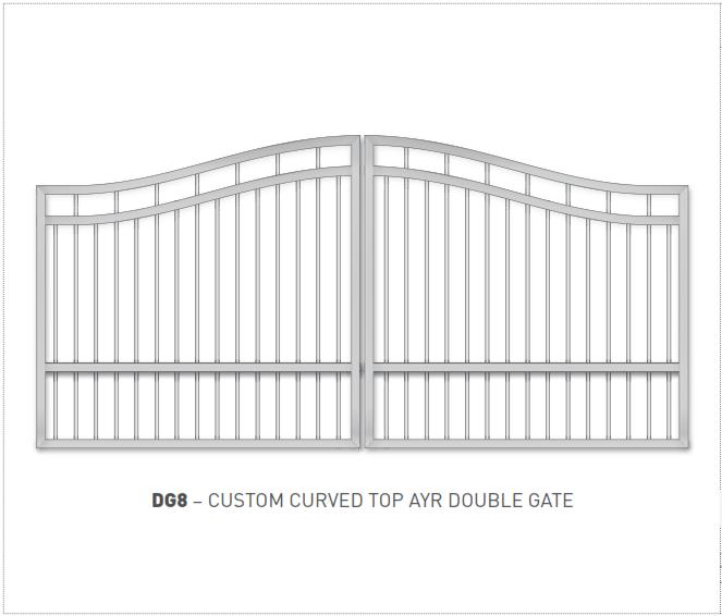 Swing Gate Styles 008