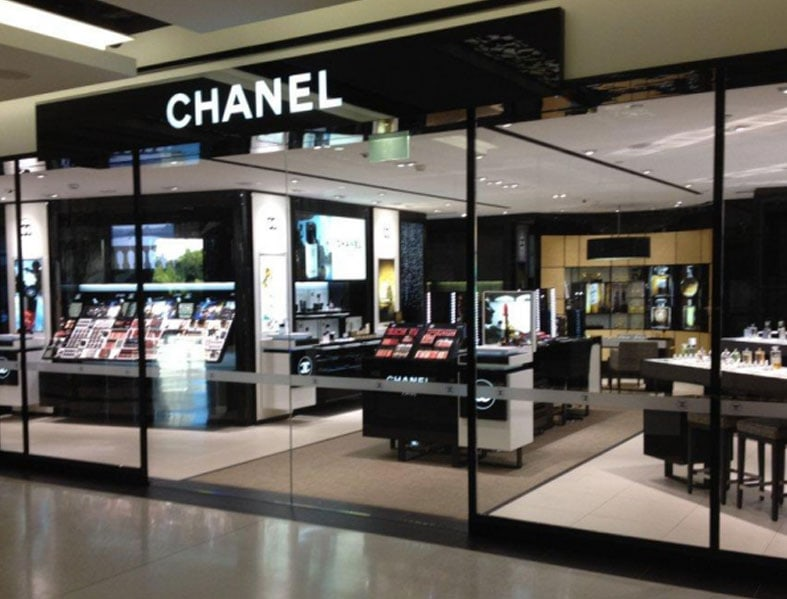Automatic Door Chanel Store