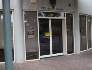 Automatic Swinging Doors – North Sydney Police Station