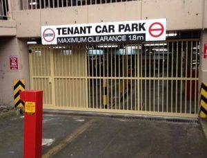 Commercial Sliding Gates – Edgecliff Car Park