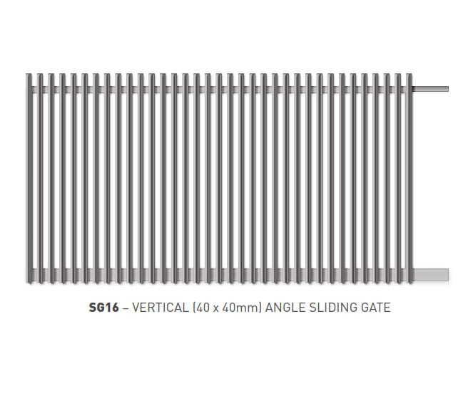 Sliding Gates Domestic 12