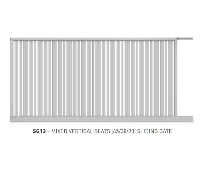 Sliding Gates Domestic 16