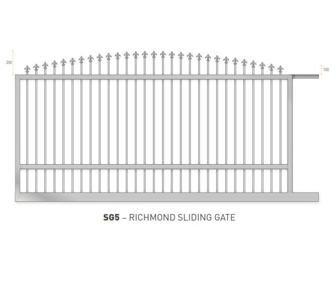 Sliding Gates Domestic 24