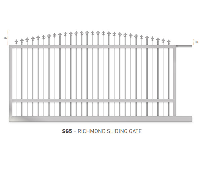Sliding Gates Domestic 24