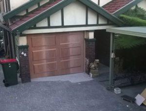 Wood Tilt Door – Turrulla